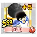 Tsubasa Black Ball SSR +5